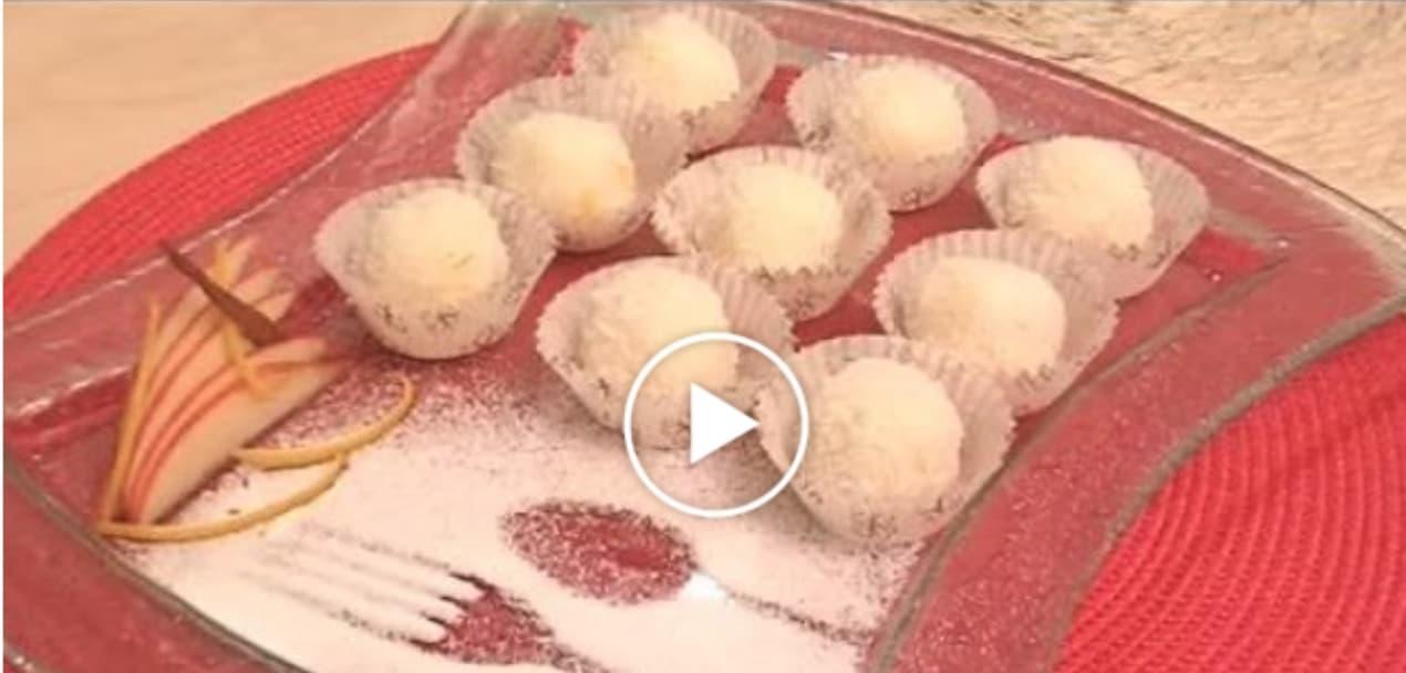 Palline di cocco, la ricetta dolce e golosa di Cotto e Mangiato