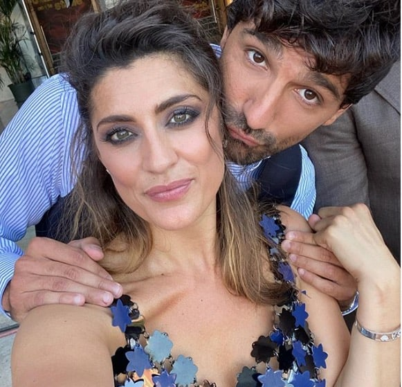 Elisa Isoardi e il suo maestro al lavoro per Ballando con le Stelle (Foto)