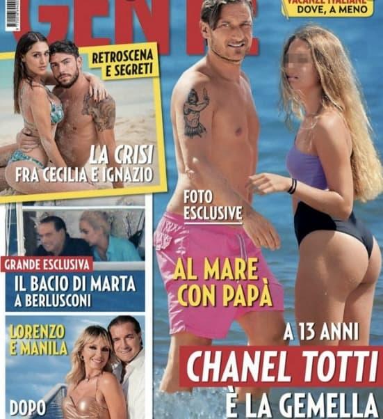 La foto di Chanel Totti in copertina è eccessiva o no? Dolcezza o cattivo gusto?