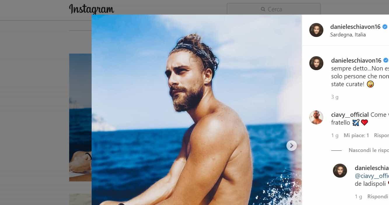 Ex di Uomini e Donne: anche per Daniele Schiavon tampone positivo al coronavirus