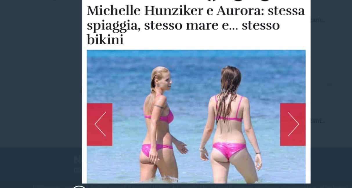 Aurora Ramazzotti interviene sul lato b in copertina di Chanel Totti e risponde a Selvaggia Lucarelli (Foto)