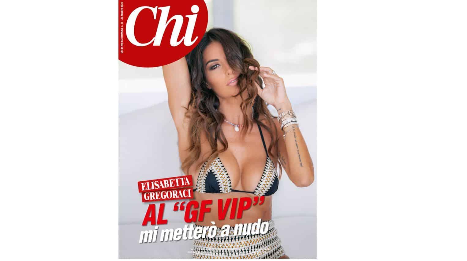 """Elisabetta Gregoraci su Chi prima delle notizia di Briatore: """"Entro nella casa da single, mi metterò a nudo"""""""