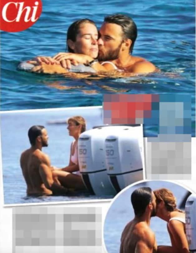 Giulio Berruti e Maria Elena Boschi in barca scoppia la passione (Foto)