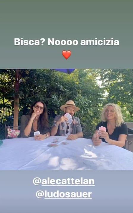 Alessandro Cattelan a casa di Antonella Clerici, sono amici da sempre (Foto)