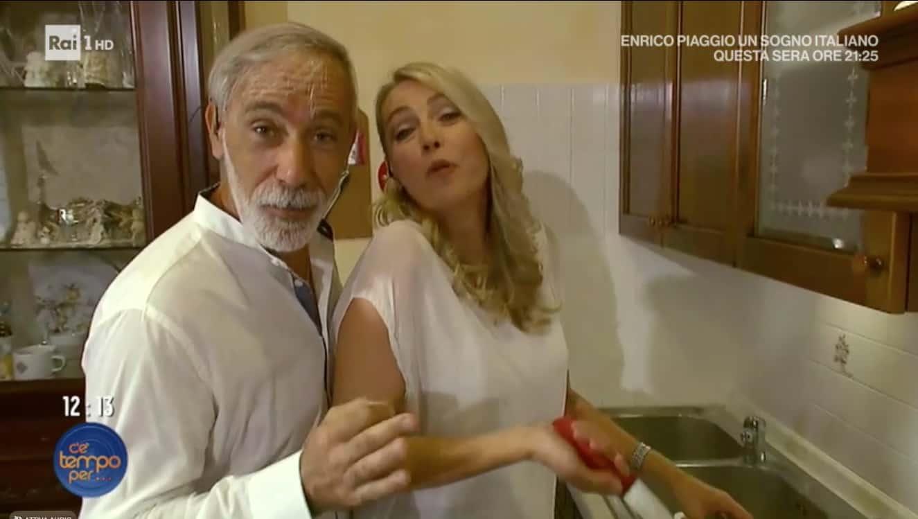 I Jalisse nella loro cucina preparano la parmigiana per C'è tempo per… (Foto)