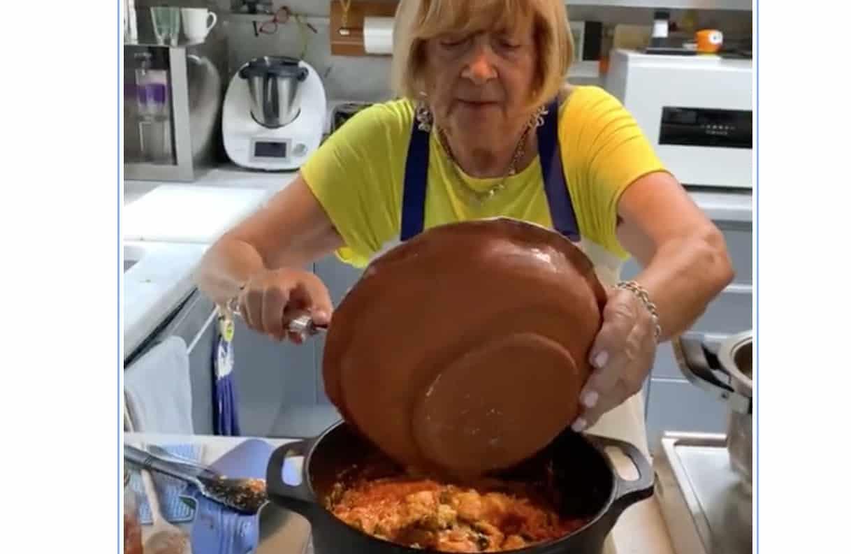 Nostalgia per Anna Moroni che sui social parla di Antonella Clerici, Andrea Mainardi e La prova del cuoco (Foto)