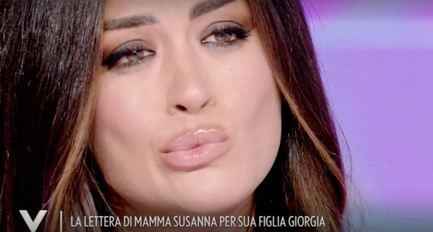 """La lettera della mamma di Giorgia Palmas a Verissimo: """"Sarai una sposa vestita di felicità"""" (Foto)"""