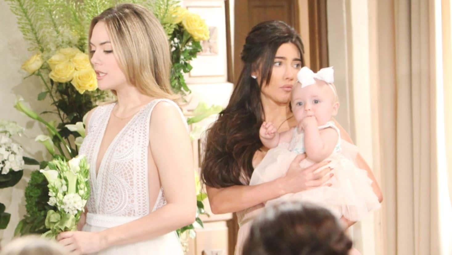 Beautiful anticipazioni: Phoebe chiama Hope mamma, il matrimonio salta?