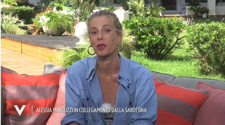 Alessia Marcuzzi sabato 19 a Verissimo per parlare con Silvia Toffanin della sua tormentata estate