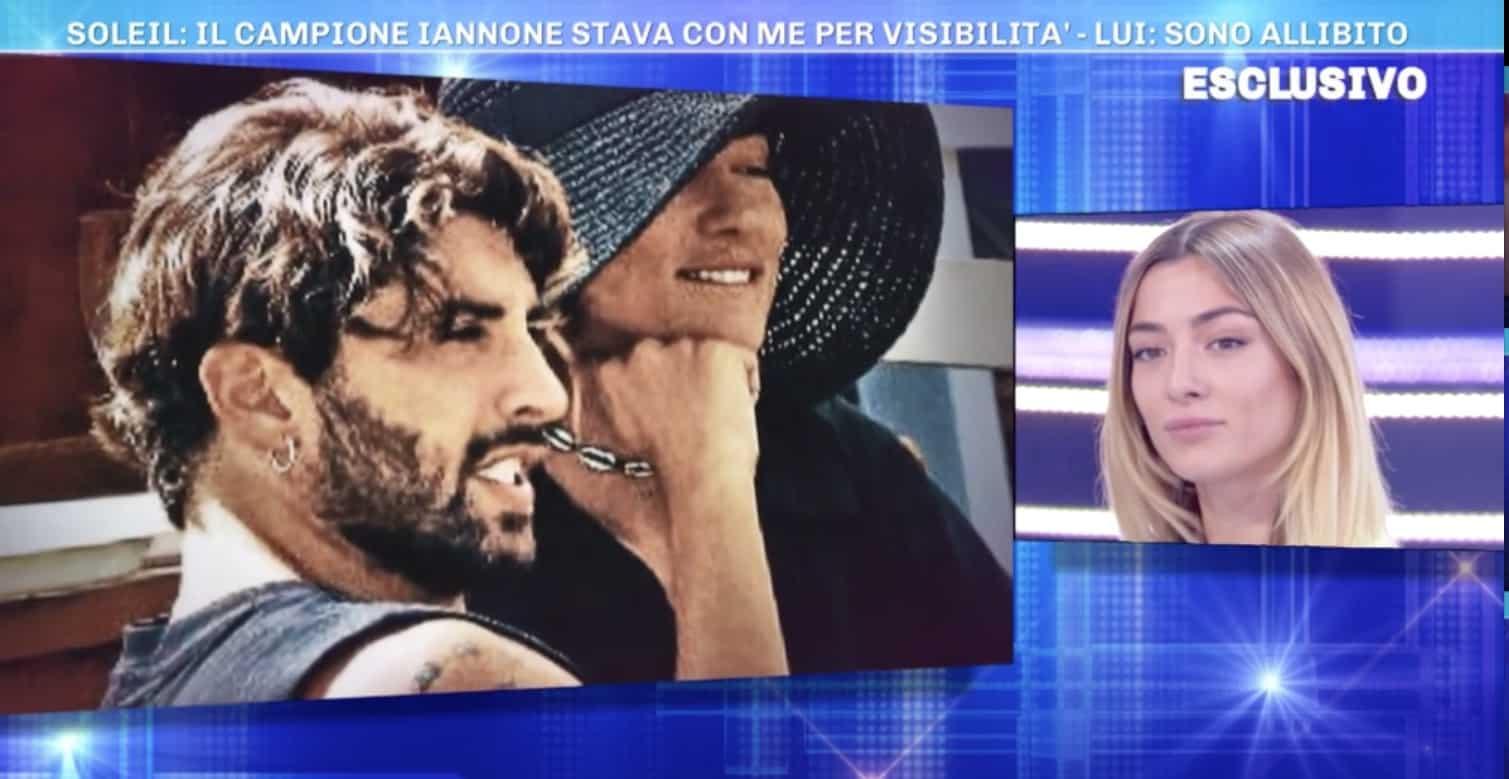 Soleil la sua verità su Iannone a Domenica Live ma un paparazzo rivela altro (Foto)