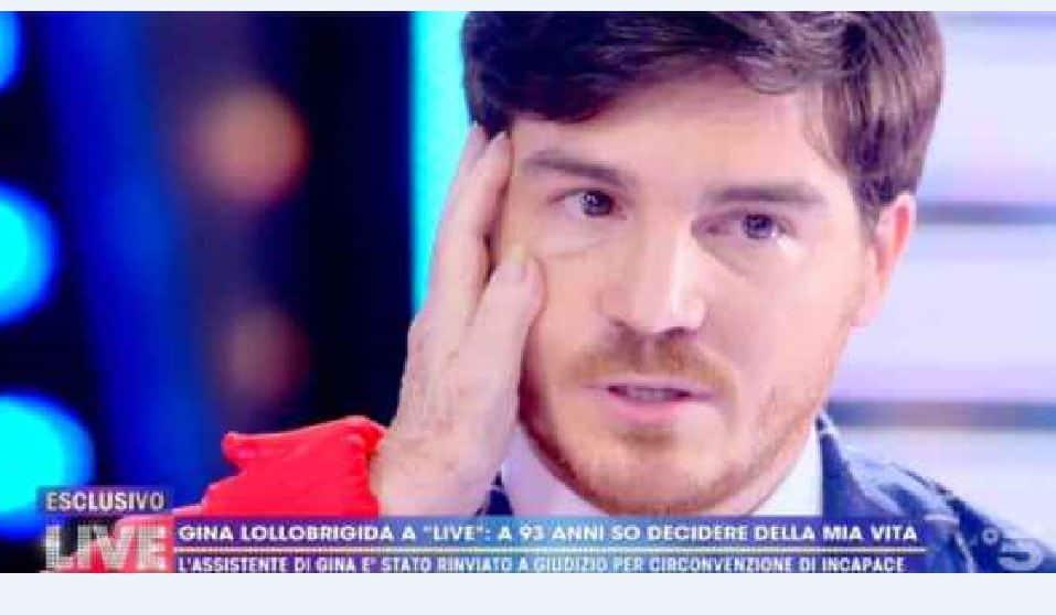 """Andrea Piazzolla shock in diretta a Live-Non è la d'Urso: """"Ho tentato il suicidio"""""""