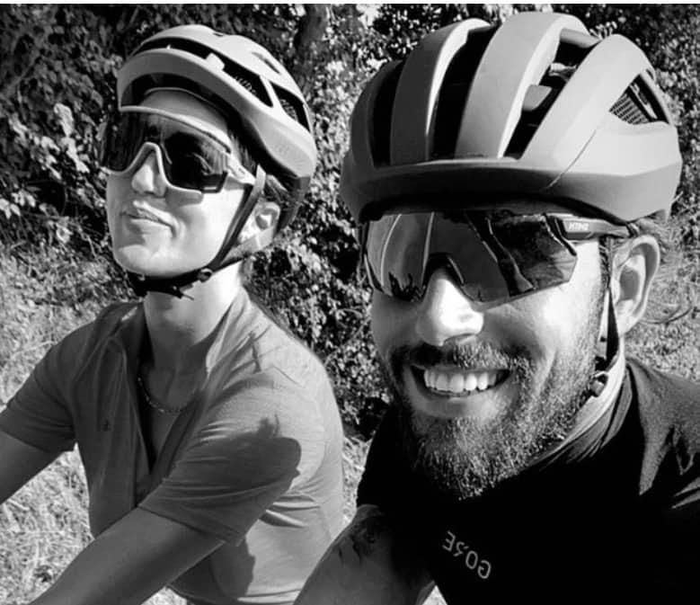 Cecilia Rodriguez e Ignazio Moser ricominciano dal ciclismo senza annunci (Foto)