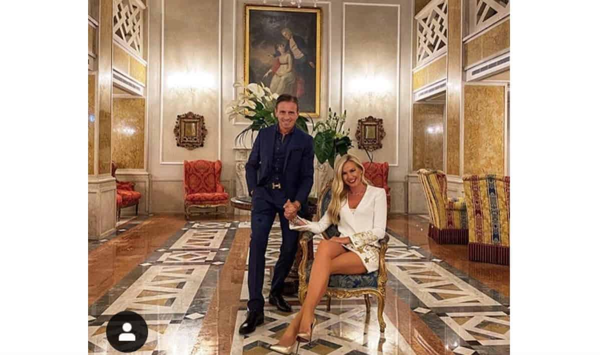 Marco Bacini a cena con Federica Panicucci esplode contro gli haters