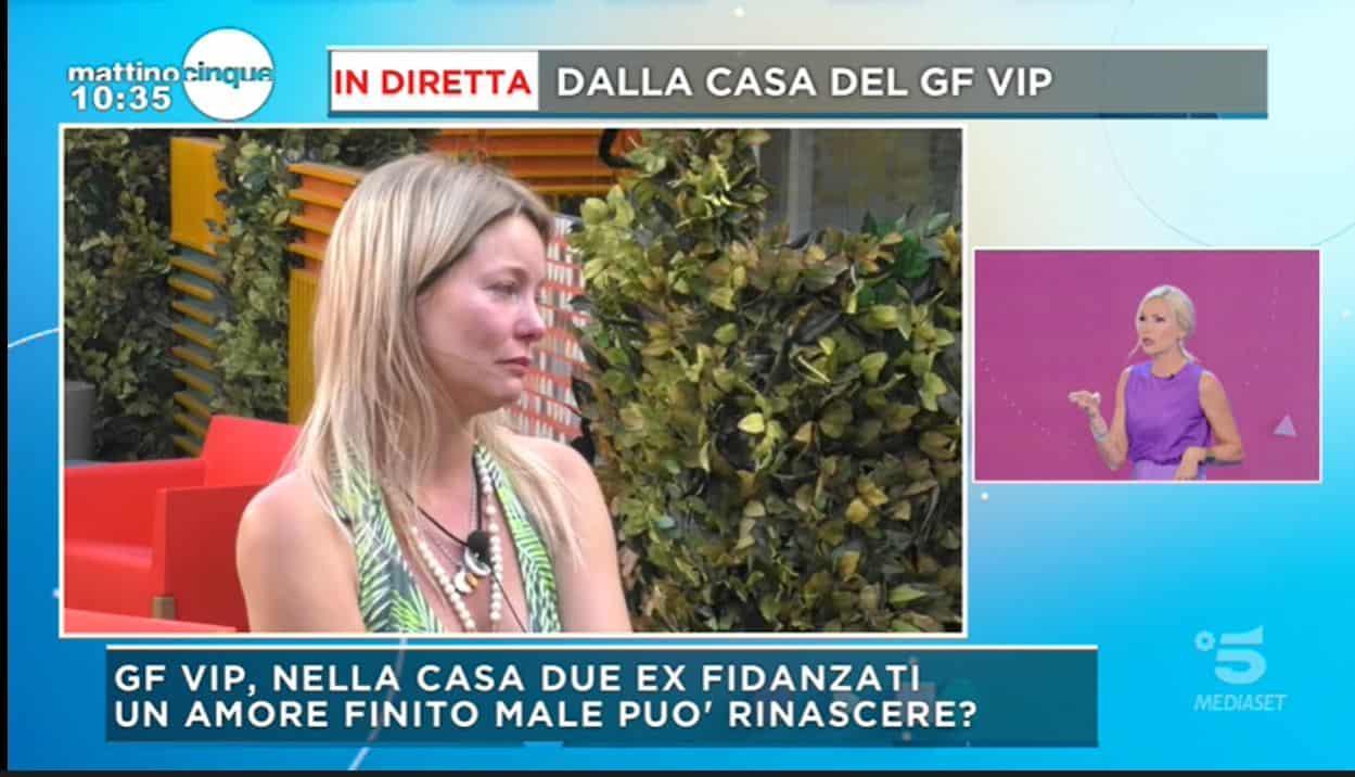 Flavia Vento già in crisi al GF VIP 5 in lacrime: vuole lasciare la casa