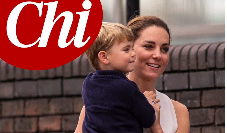 Kate Middleton dolcissima in giro per Londra con il piccolo Louis (FOTO)