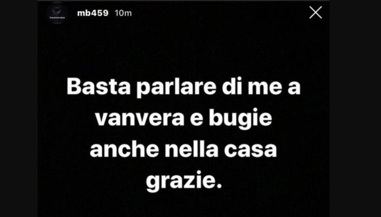 Mario Balotelli sbotta sui social: frecciata contro Dayane Mello?