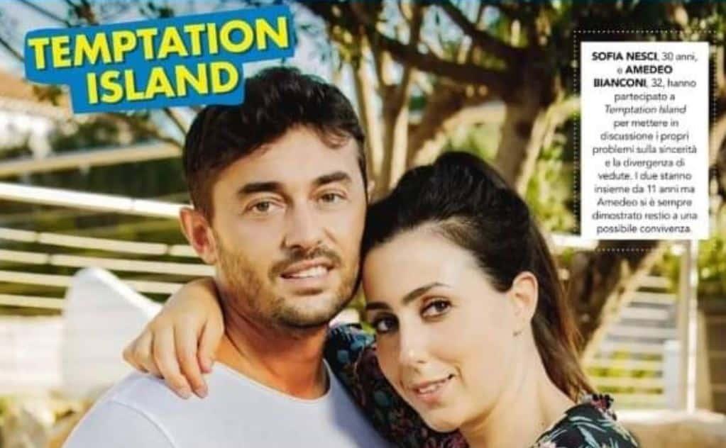 Sofia e Amedeo dopo Temptation Island 2020 stanno ancora insieme?