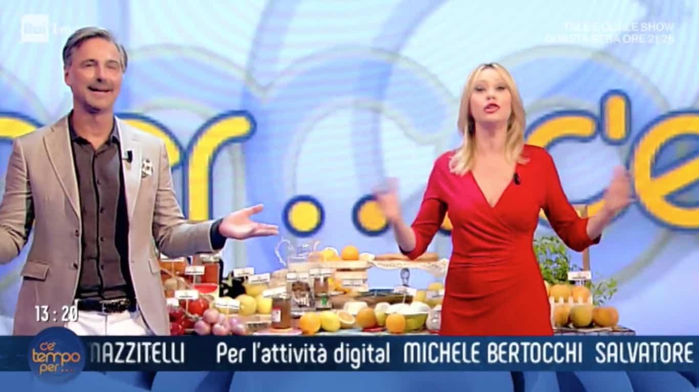 Beppe Convertini e Anna Falchi chiudono C'è tempo per in lacrime e con i brividi (Foto)