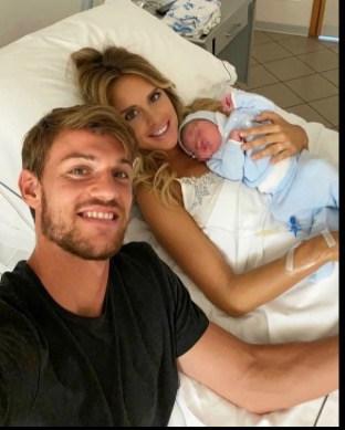Daniele Rugani e Michela Persico: è nato il loro primo figlio (Foto)