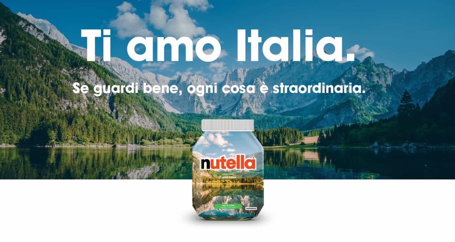 Nutella Special Edition: Nasce Ti amo Italia