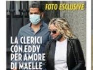Antonella Clerici con Eddy Martens per un giorno per rendere felice Maelle (Foto)