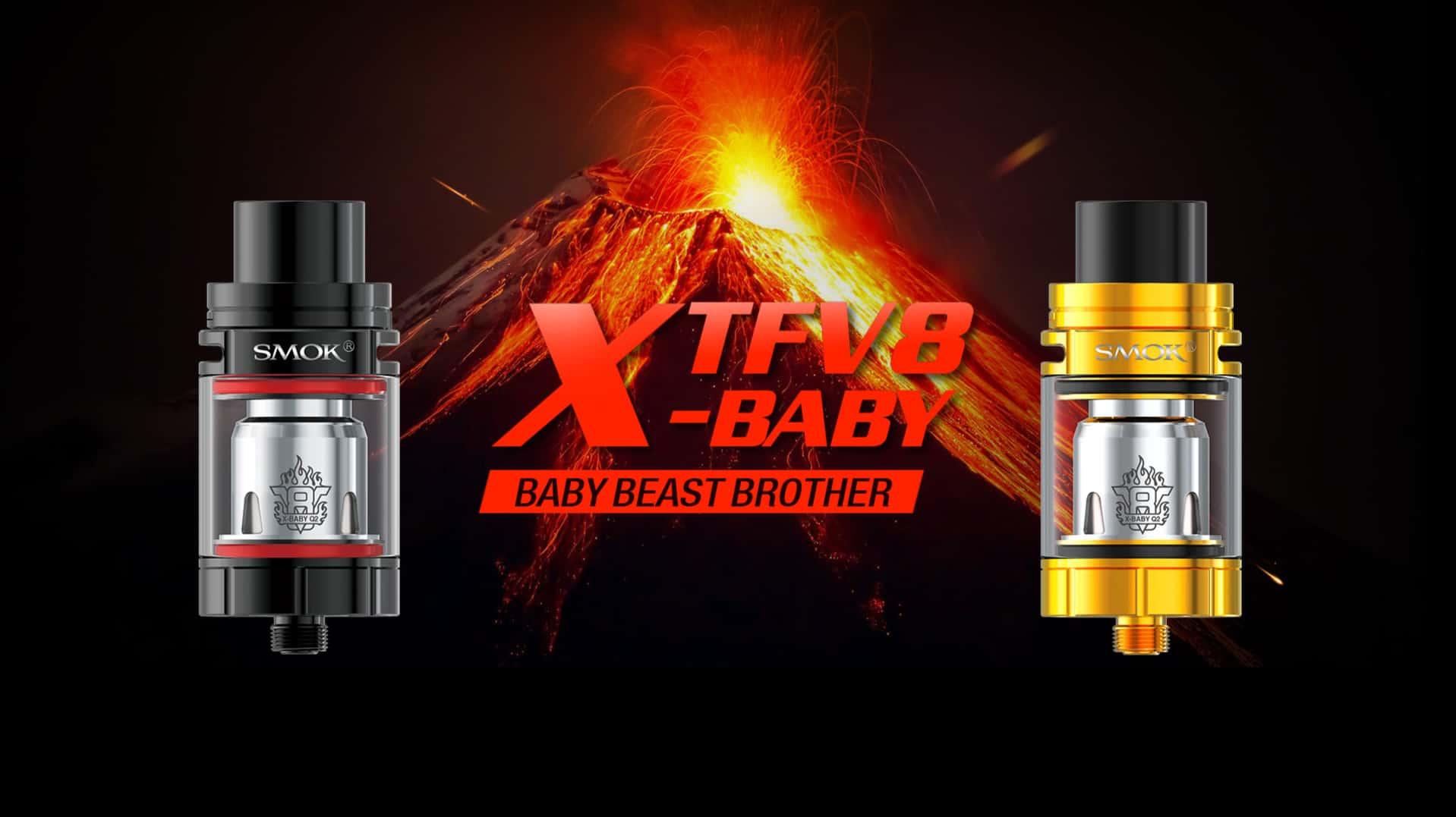 Atomizzatori E-Cig Smok: alla scoperta di X Baby, Big Baby, Baby e TFV8 Cloud Beast