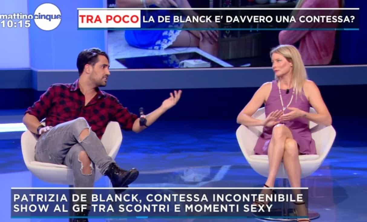 Flavia Vento e Biagio D'Anelli sono stati insieme? Il faccia a faccia a Mattino 5