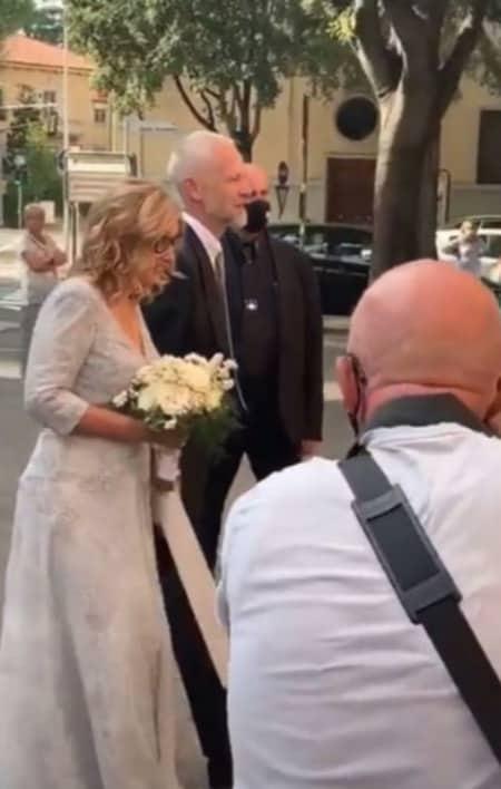 Il matrimonio di Nicoletta Mantovani e Alberto Tinarelli, sono nozze romantiche per la vedova di Pavarotti (Foto)