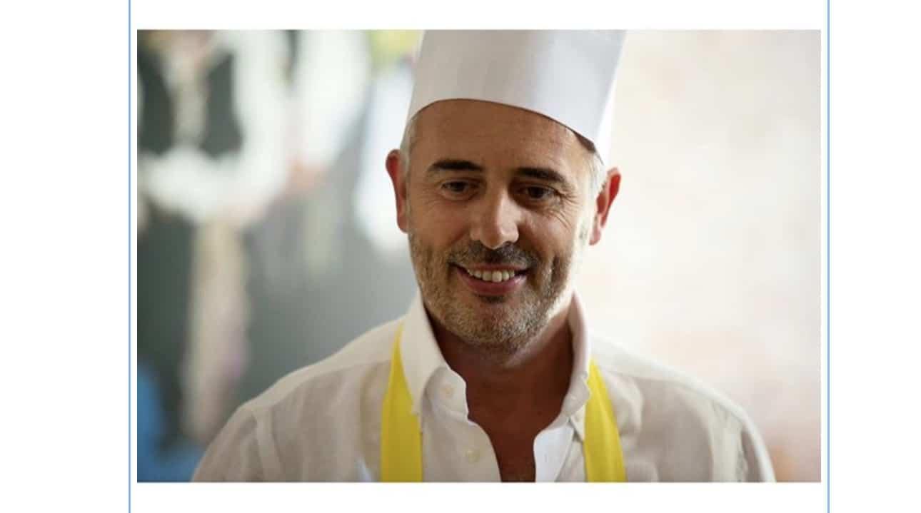 Vittorio Garrone cuoco e Antonella Clerici ha una dedica per lui (Foto)