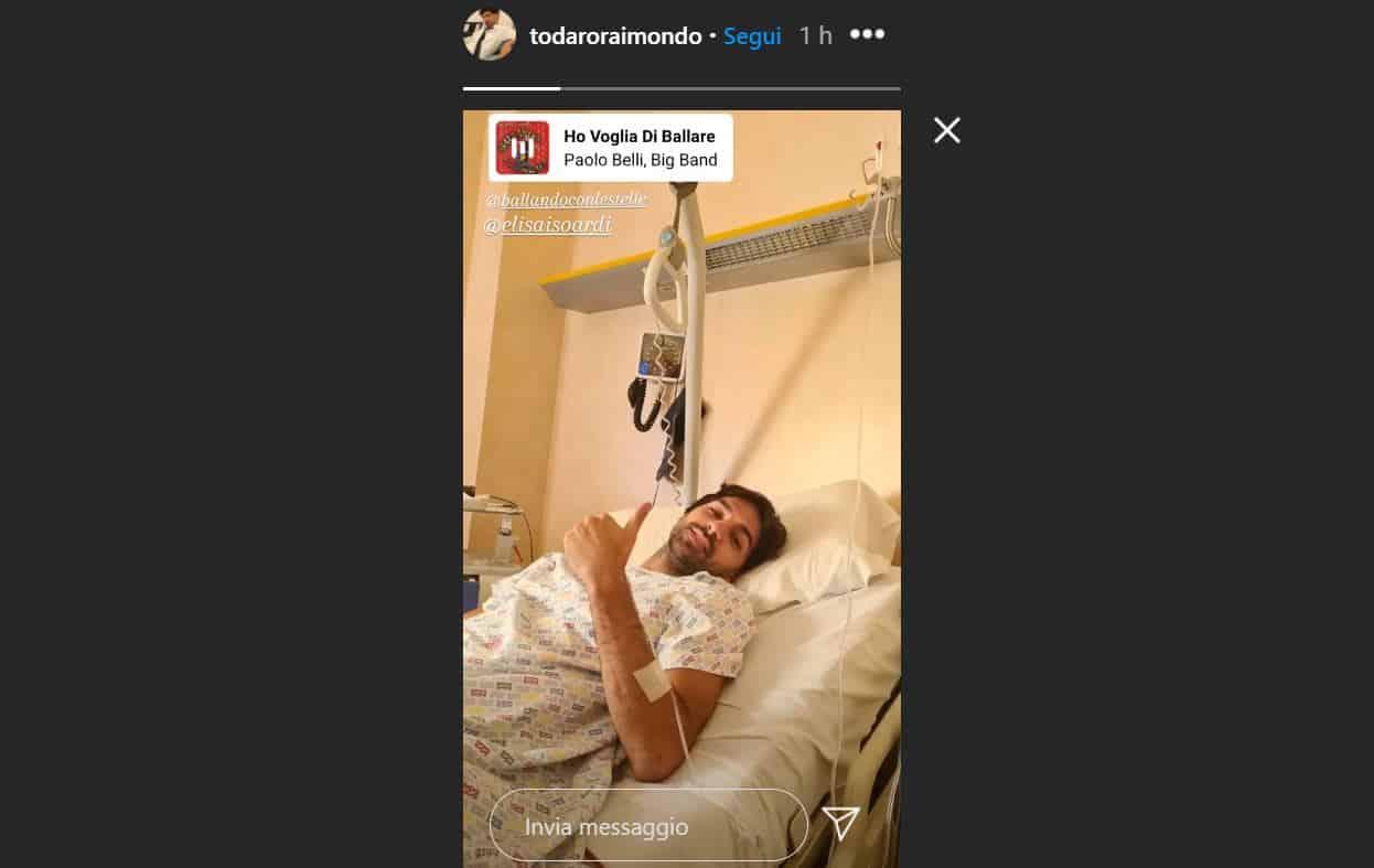 Raimondo Todaro ancora in ospedale: Elisa Isoardi attende l'asso di Milly Carlucci