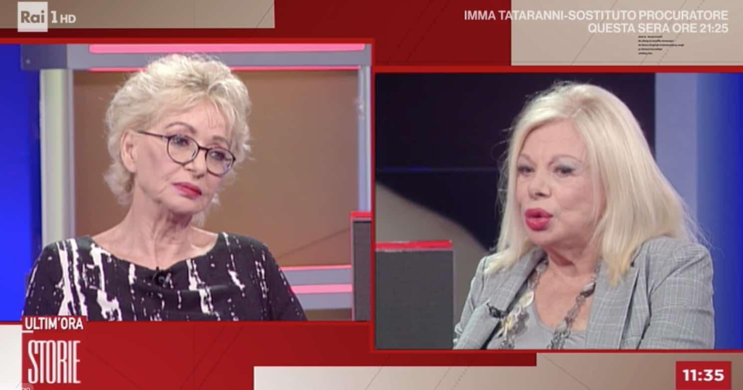 """Sandra Milo a Storie Italiane: """"Operata per le violenze di cui ancora porto le tracce"""""""