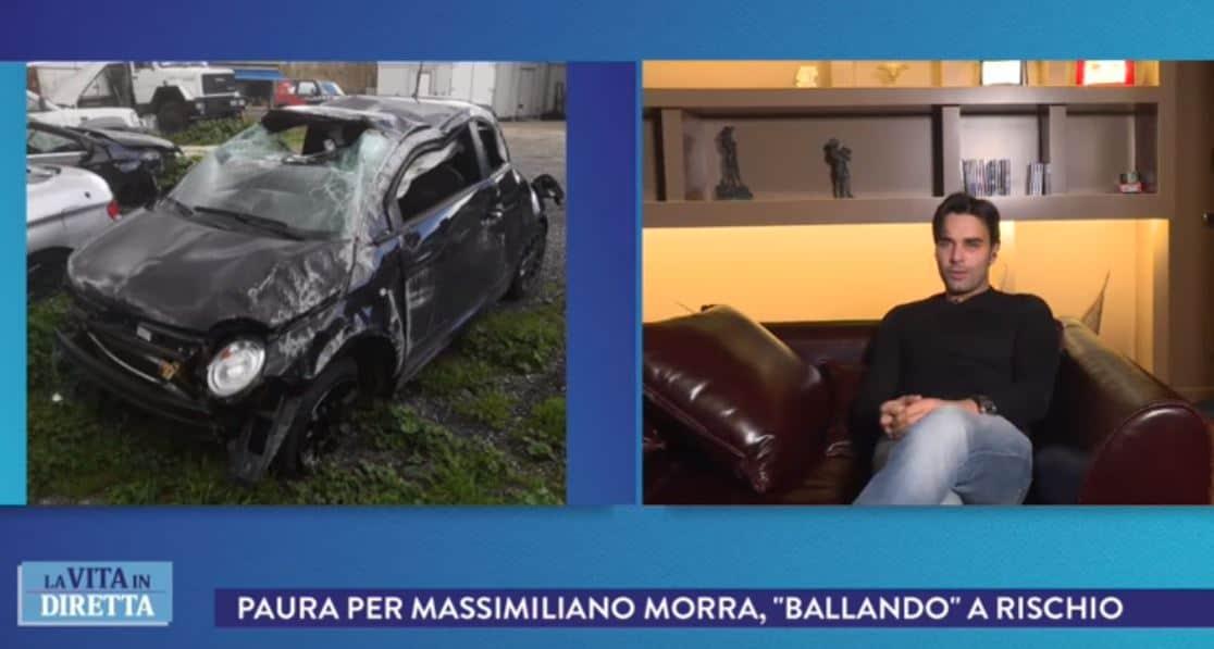 """L'incidente di Morra in auto, Adua rivela: """"Volevo venire, mi ha bloccato dicendomi che eri in coma"""""""