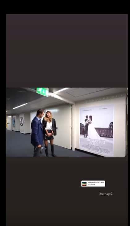 Il regalo di Cristina Chiabotto al marito per l'anniversario è il loro film al cinema (Foto)