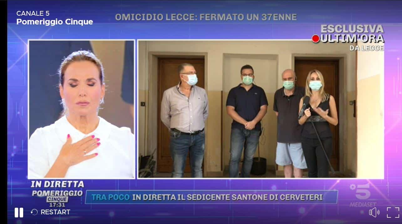 Duplice omicidio Lecce, un uomo di Aradeo interrogato in procura