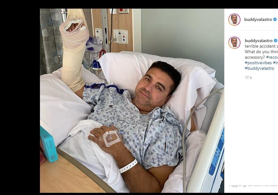 Buddy Valastro in ospedale: il Boss delle torte ha avuto un incidente