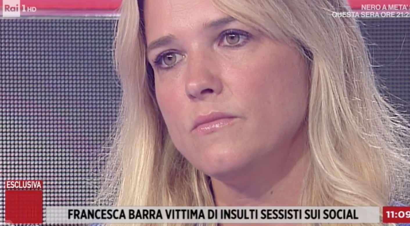 Francesca Barra vince contro l'odio e a Storie Italiane racconta il dolore di suo figlio (Foto)
