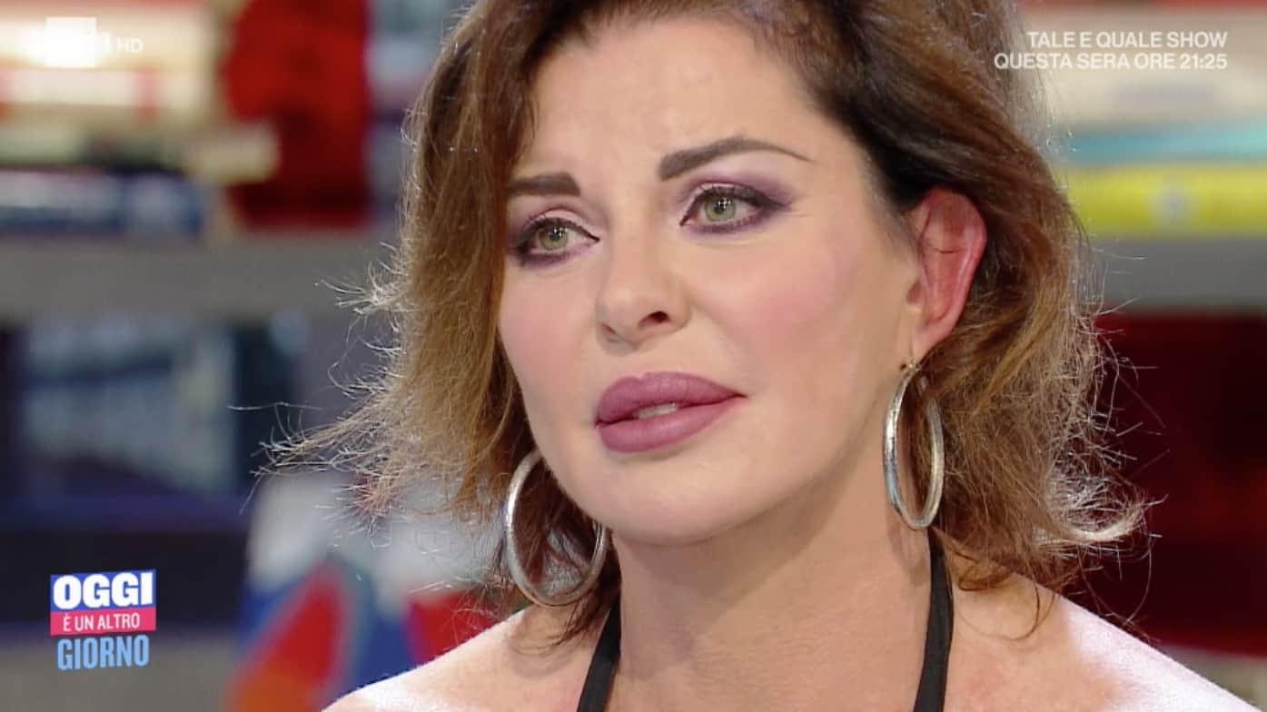 Alba Parietti aveva paura di avere la stessa malattia della madre (Foto)