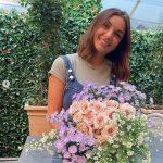 Elettra Lamborghini taglia i capelli alla vigilia del matrimonio e sceglie i fiori più belli (Foto)