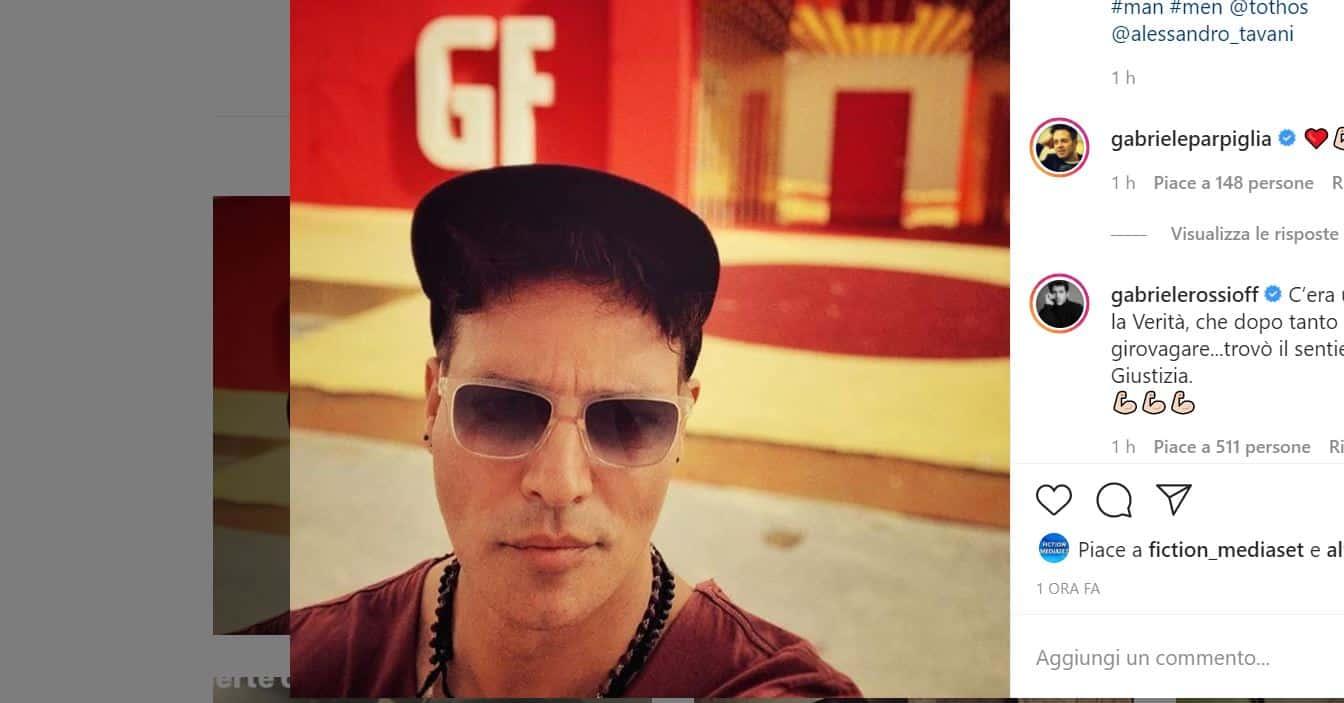 La verità di Gabriel Garko al GF VIP 5: Gabriele Rossi lo appoggia