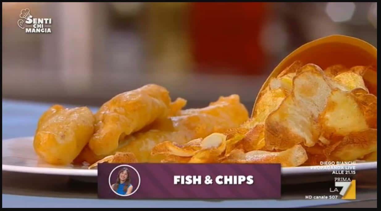 Nuove ricette Benedetta Parodi: fish and chips da Senti chi mangia