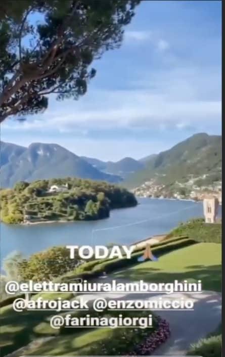 Il matrimonio di Elettra Lamborghini: Enzo Miccio mostra la location e attende la sposa (Foto)