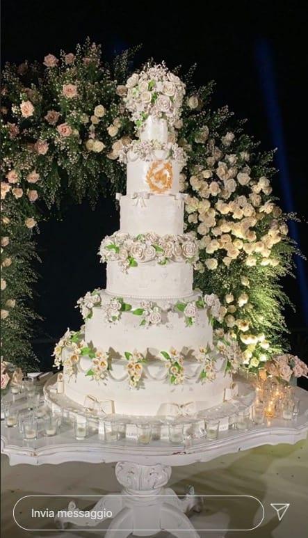 I tre abiti da sposa di Elettra Lamborghini e tutto il matrimonio da sogno (Foto)