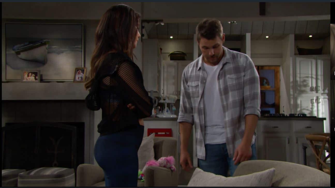 Beautiful anticipazioni: Liam riabbraccia Beth ma Hope non sa ancora nulla