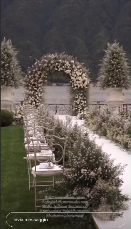 Le nozze di Elettra Lamborghini e Afrojack, i dettagli a Villa Balbiano: tutto è stato perfetto (Foto)
