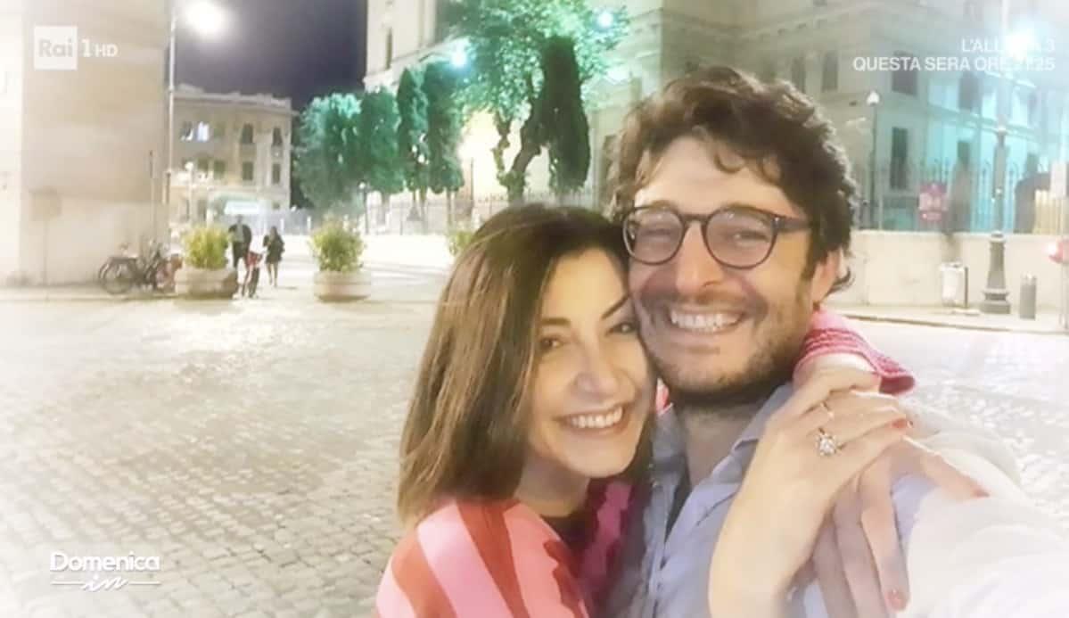 Lino Guanciale emozionato per le immagini del suo matrimonio a Domenica In (Foto)