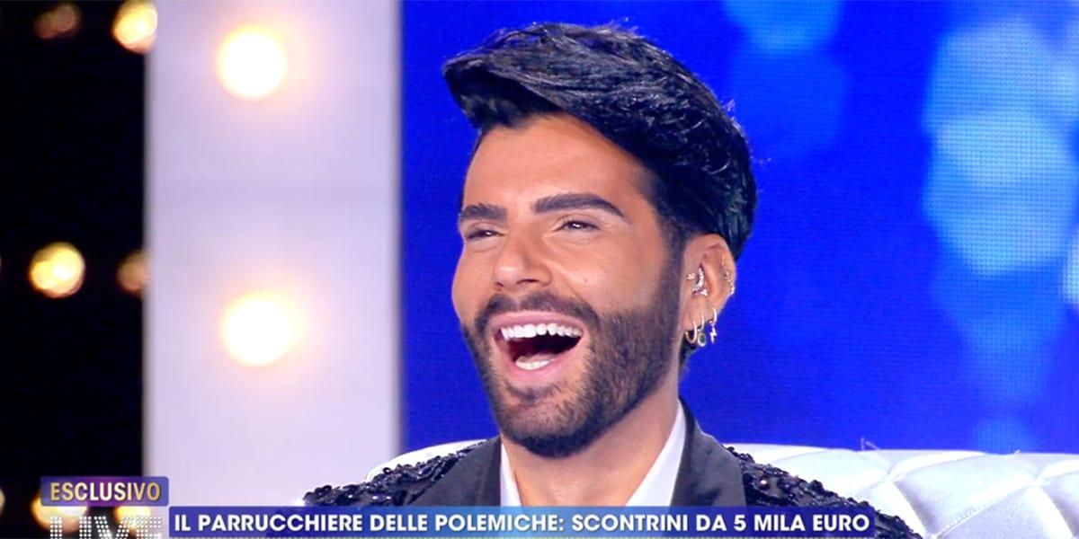 LIVE Non è La D'Urso: Federico Fashion Style attacca Antonella Mosetti per un conto non saldato
