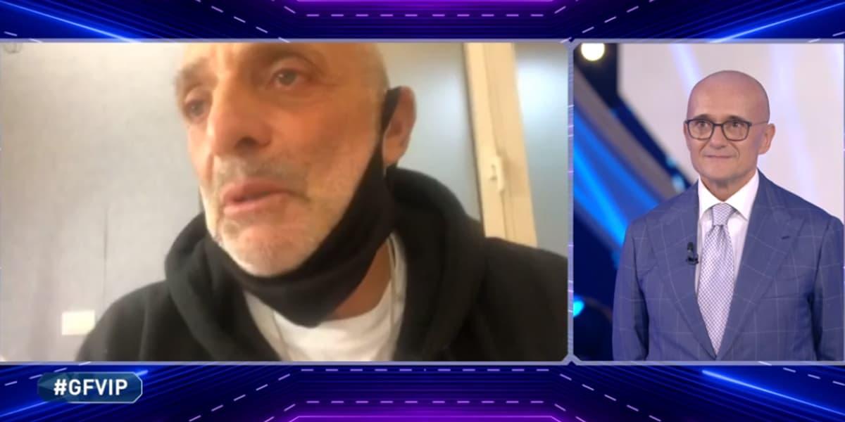 Grande Fratello VIP 2020: Paolo Brosio commosso, ha sconfitto il Covid