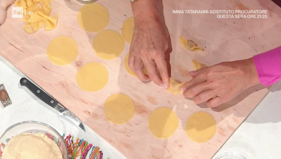 Casoncelli alla bergamasca di Francesca Marsetti, la ricetta del ritorno a E' sempre mezzogiorno (Foto)
