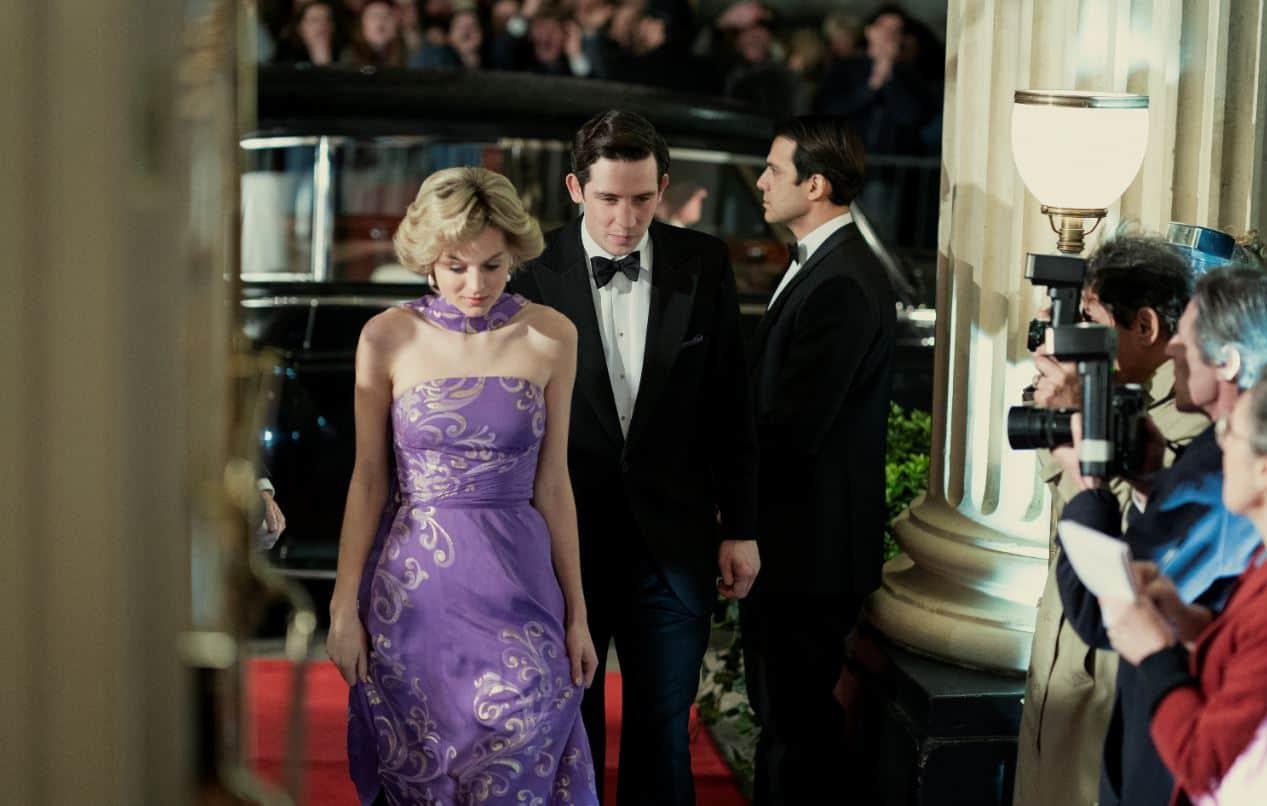 The Crown 4: le prime immagini della serie Netflix con Lady Diana