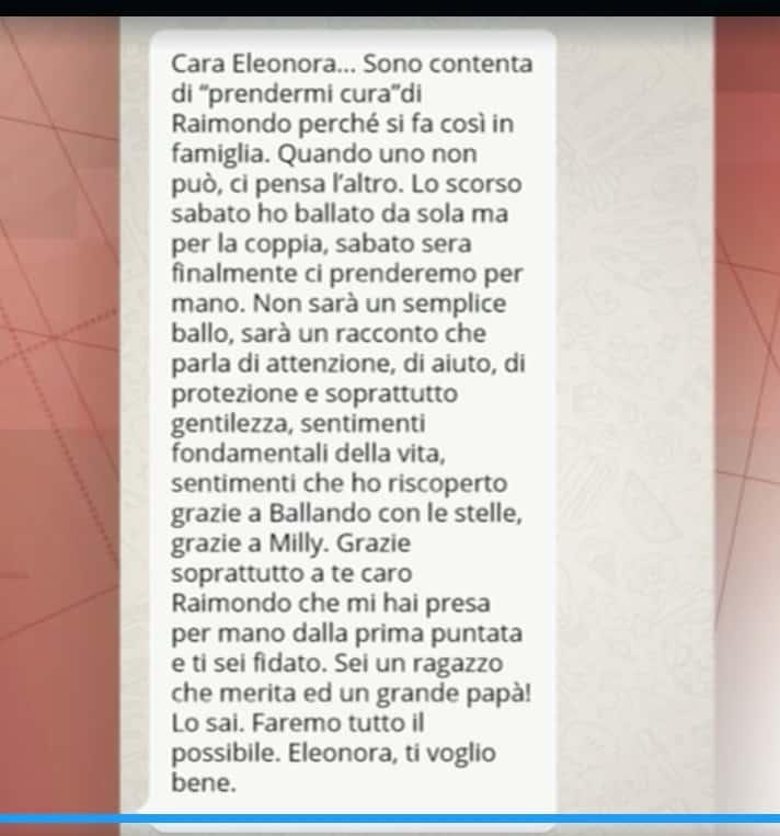 A Storie Italiane arriva il messaggio di Elisa Isoardi per Raimondo Todaro (Foto)